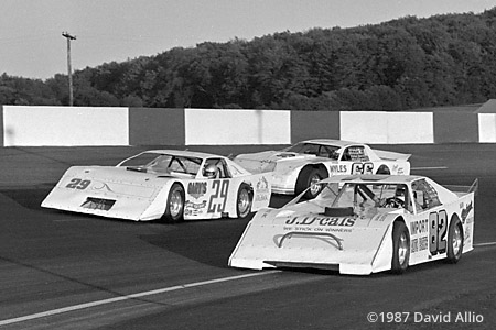 Jennerstown Speedway 1987 Stan Lasky Rusty Peoples