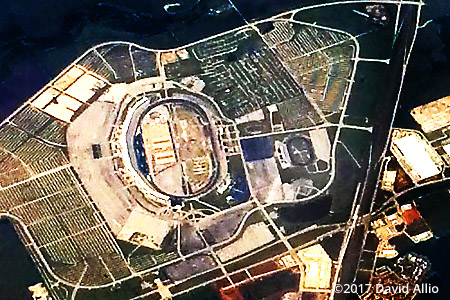 Texas Motor Speedway 2017 aerial photograph