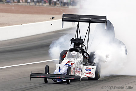 The Strip at LVMS 2007 Melanie Troxel NHRA Top Fuel Dragster