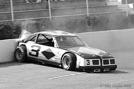 Martinsville Speedway 1982 Mike Porter NASCAR Winston Racing Series Budweiser Late Model Sportsman
