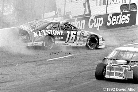 North Wilkesboro Speedway 1992 Wally Dallenbach Jr