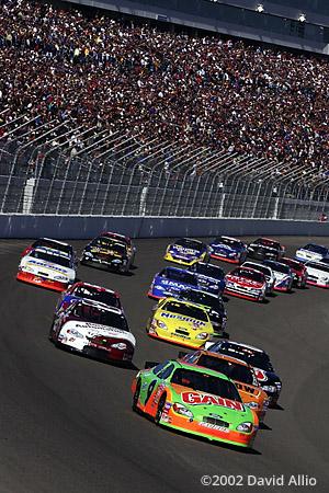 Las Vegas Motor Speedway 2002 Jeff Burton