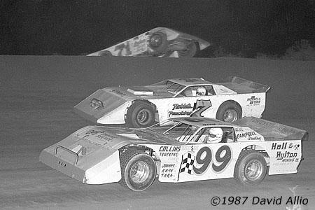 Mountain Motor Speedway 1987 David Dixon Charles Noble