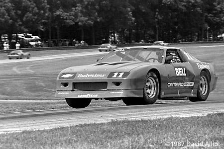 Mid-Ohio Sports Car Course 1987 Derek Bell