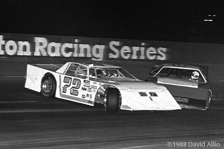 Jennerstown Speedway 1988 Bob Skwara Rick Miller