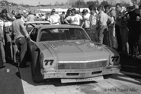 Hickory Speedway 1978 Harry Gant