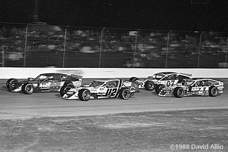 Indianapolis Raceway Park 1988 Jan Leaty Rick Fuller