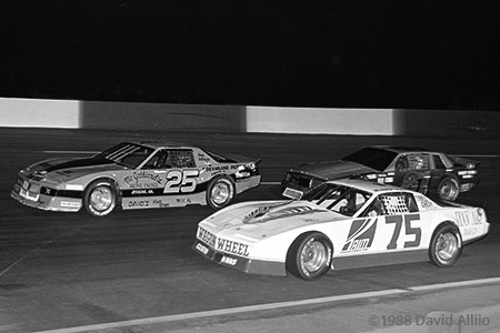 Anderson Motor Speedway 1988 Mike Love Mitch Fowler