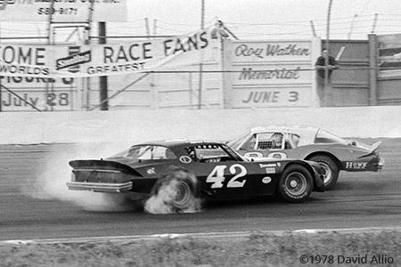 Louisville Motor Speedway 1978 Jerry Makara Mike Eddy