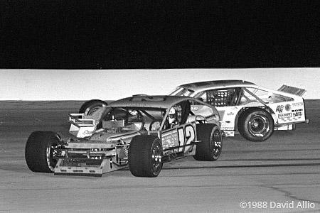 Indianapolis Raceway Park 1988 Mike McLaughlin Jay Hedgecock