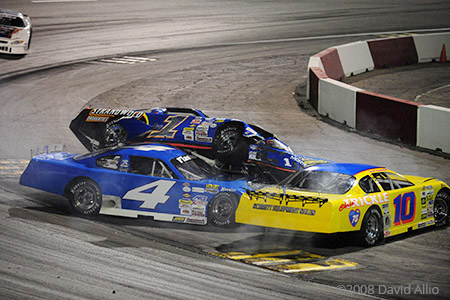 The Bullring at LVMS 2008 Dave Byrd Greg Voight