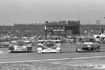 Daytona Intl Speedway 1988 Derek Bell Chip Robinson