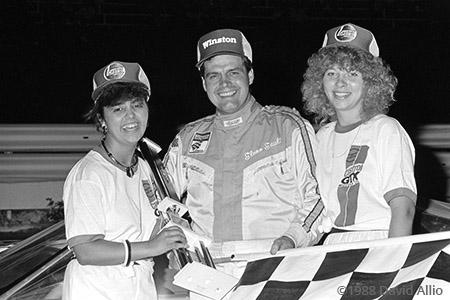Clearfield Mountain Speedway 1988 Glenn Gault