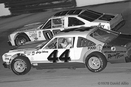Kingsport Intl Speedway 1978 Larry Utsman Sam Ard