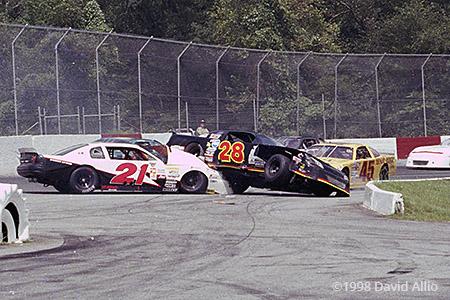 Greenville Pickens Speedway 1998 Billy Bigley Steve Mendenhall