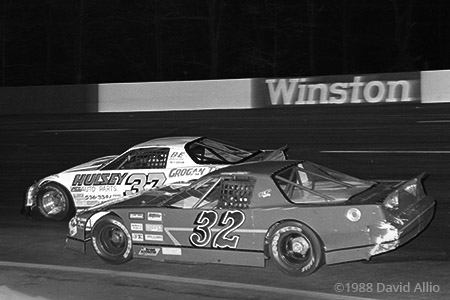 Anderson Motor Speedway 1988 David Grogan Randy Porter