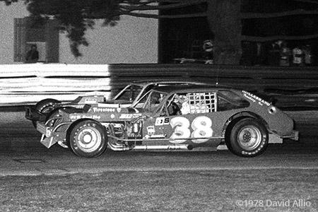 Bowman Gray Stadium 1978 Jerry Cook Richie Evans
