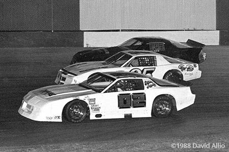Stockton 99 Speedway 1988 Eddie Amador John Piccinini