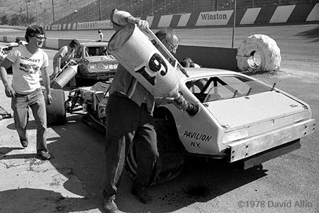 Kingsport International Speedway 1978 Richie Evans Ken Bear Hunley