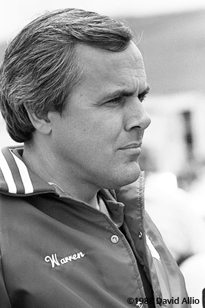Sears Point International Raceway 1988 Warren Razore