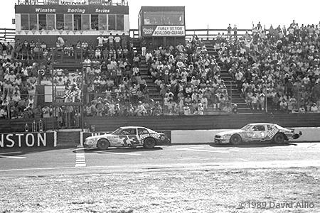 Portland Speedway 1989 Bill Schmitt Jim Bown