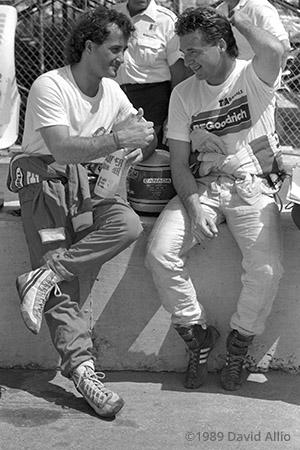 South Florida Fairgrounds 1989 Jacques Villeneuve Scott Goodyear
