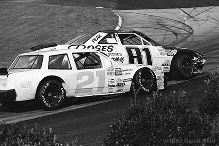 Martinsville Speedway 1989 Kyle Petty Jim Field