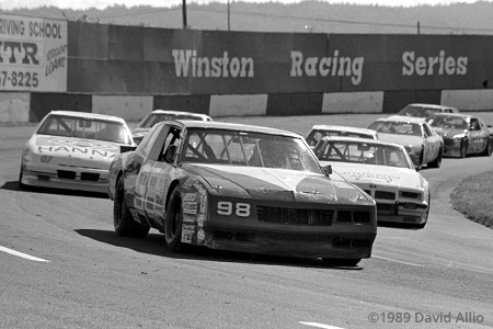 Portland Speedway 1989 Derrike Cope