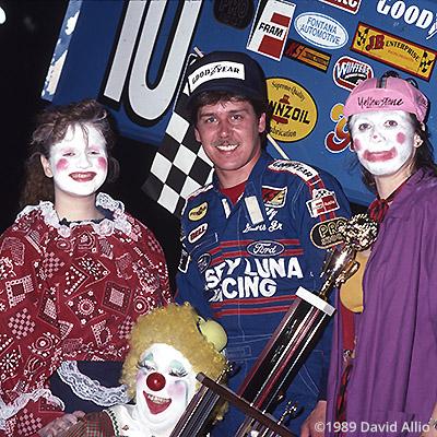 Big H Speedway 1989 Bobby Davis winner WoO