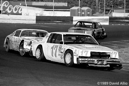 Portland Speedway 1989 Bruce Vollstedt Tracy Johnson NASCAR