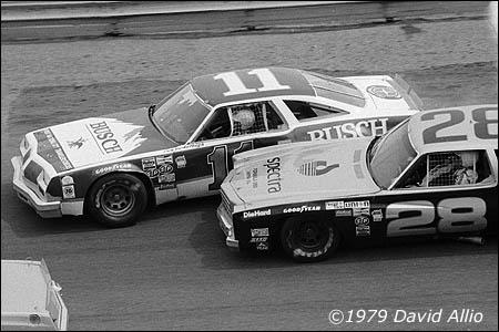Bristol International Raceway 1979 Buddy Baker Cale Yarborough NASCAR