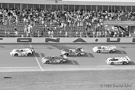Daytona International Speedway 1989 Elliott Forbes-Robinson Takashi Yorino IMSA