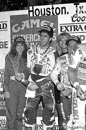 Houston Astrodome 1989 Jeff Stanton winner AMA