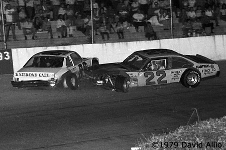 Franklin County Speedway 1979 Lynn Carroll Monk Tate