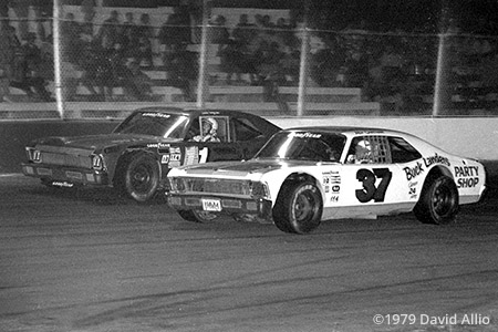Asheville Motor Speedway 1979 Roy Chatham Roy Lee Jones