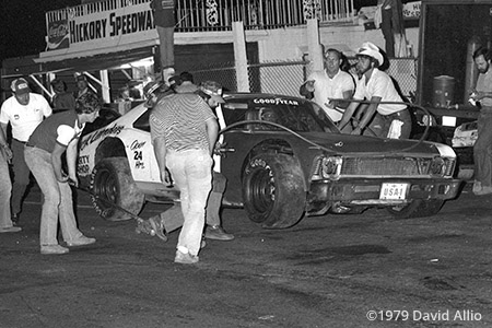 Hickory Speedway 1979 Roy Lee Jones Roy Chatham