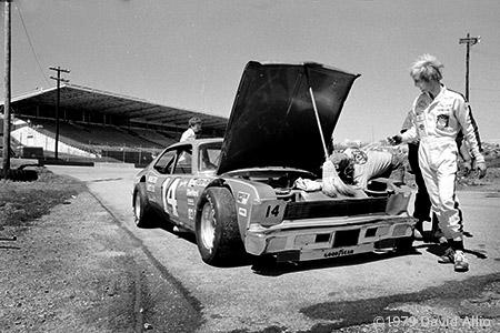 Nashville Intl Raceway 1979 Sterling Marlin