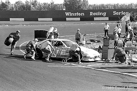 Portland Speedway 1989 Mark Walbridge
