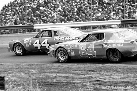 Richmond Fairgrounds Raceway 1979 Terry Labonte Tommy Gale