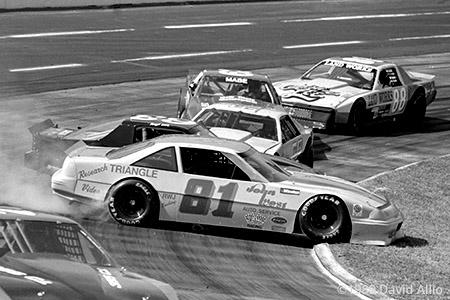 Martinsville Speedway 1989 William Johnson Darryl Lacks NASCAR Winston Racing Series Late Model Stock Car