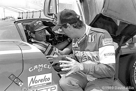 Heartland Park 1989 Geoff Brabham George Brett