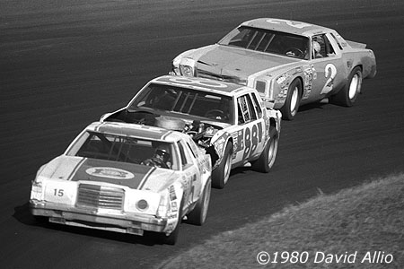 North Wilkesboro Speedway 1979 Bobby Allison Darrell Waltrip