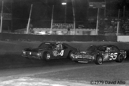 Asheville Motor Speedway 1979 Bob Pressley Tommy Houston