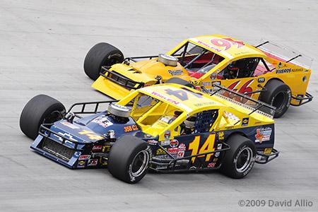Bristol Motor Speedway 2009 Bobby Hutchens Jr Eric Beers