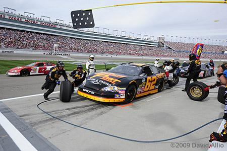 Las Vegas Motor Speedway 2009 Brendan Gaughan