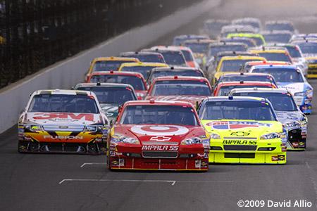 Indianapolis Motor Speedway 2009 Juan Pablo Montoya