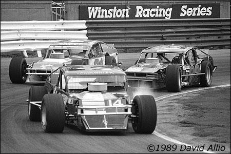 Bowman Gray Stadium 1989 Bobby Hutchens