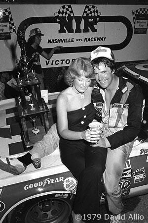 Nashville International Raceway 1979 Darrell Waltrip Stevie Waltrip