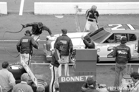 Martinsville Speedway 1979 Leonard Wood