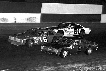 Hickory Speedway 1979 Butch Lindley Kerry Bodenhamer